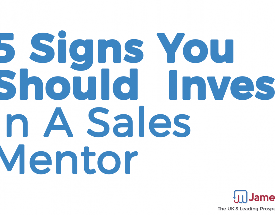 5 Signs You Should Invest in a Sales Mentor