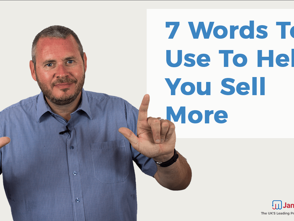 Sales Language- 7 Words to Help You Sell More