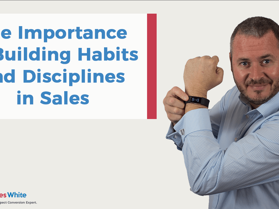 Building Habits in Sales