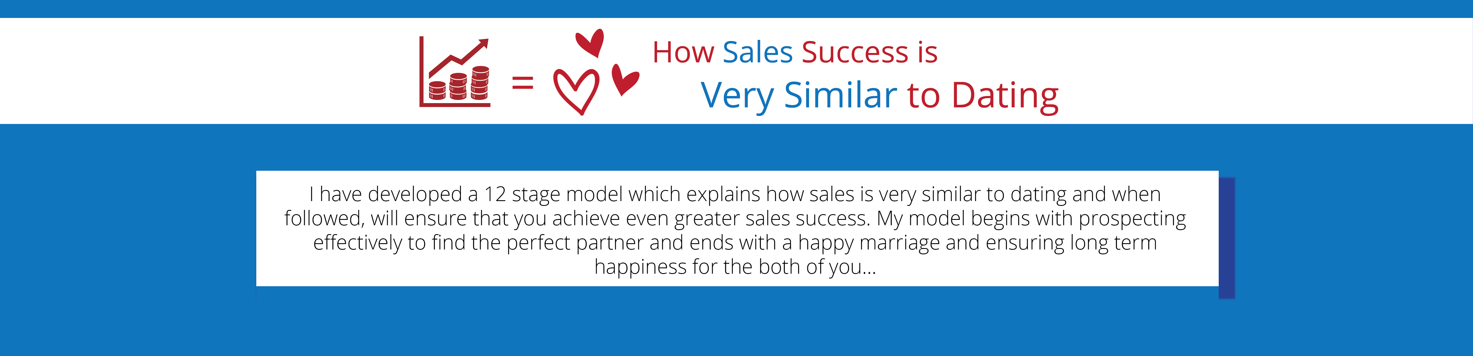 Winning in Sales is Like Falling in Love