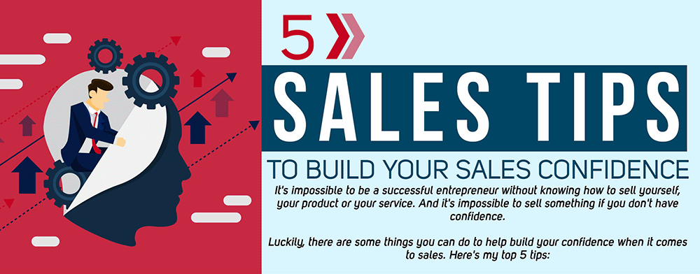 5 Sales Tips To Build Confidence